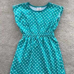Hanna Anderson polka dot dress size 10 (140)